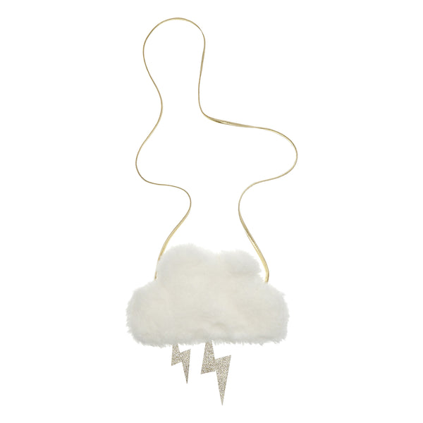 Furry cloud bag  BY MIMI AND LULA