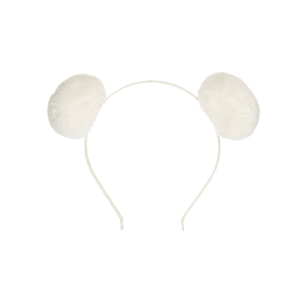 Furry bear ears alice band