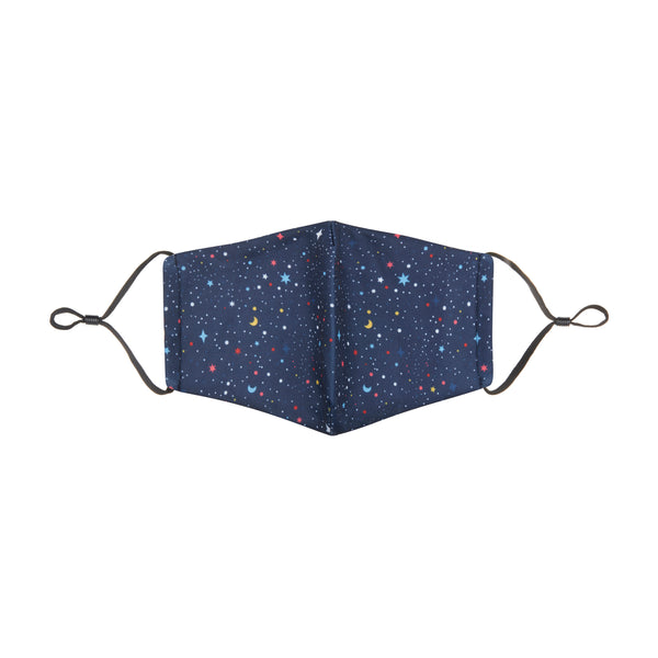 Adult night sky face mask-navy