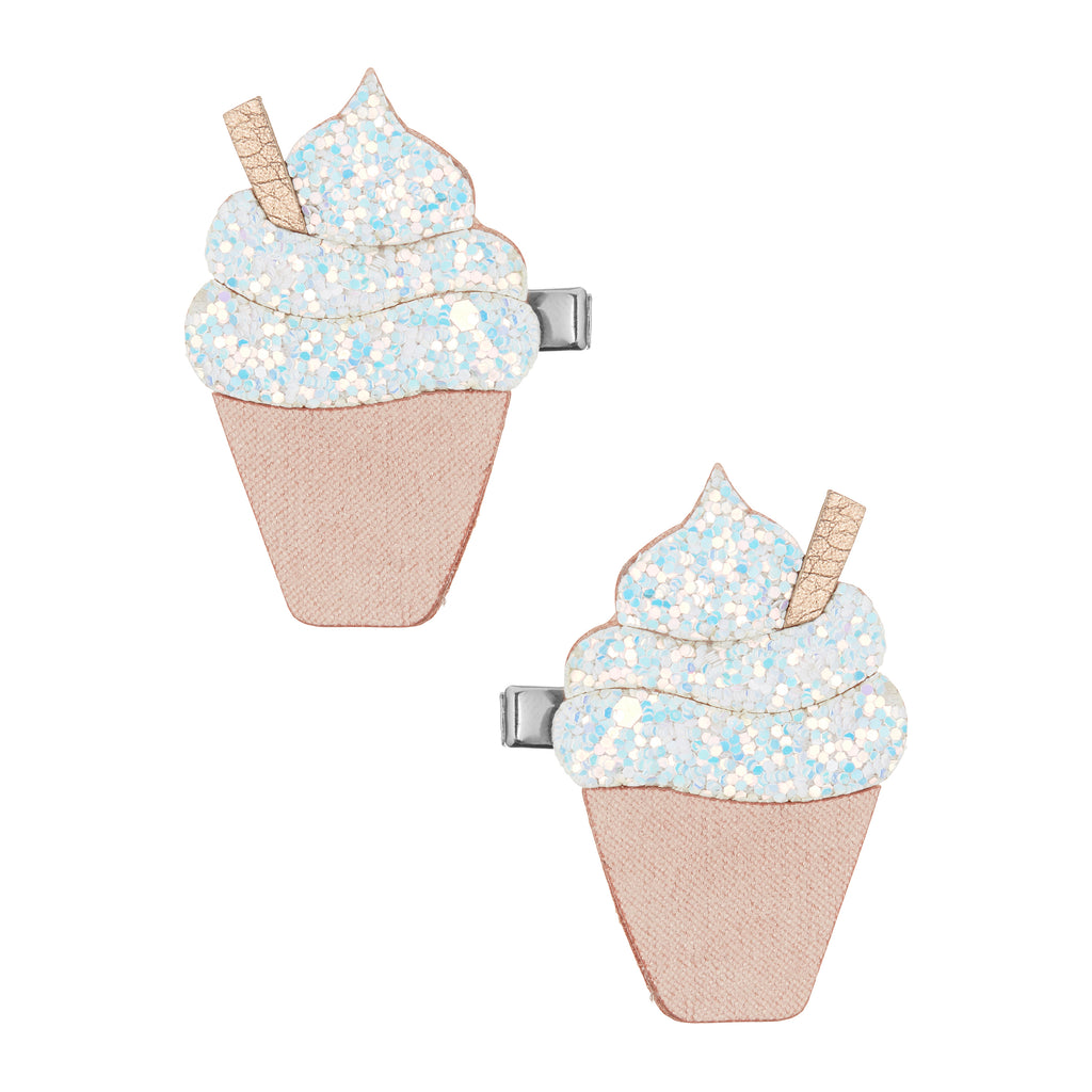 Glitter ice cream clips