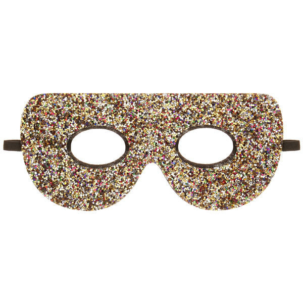 Glitter superhero mask by MIMI & LULA