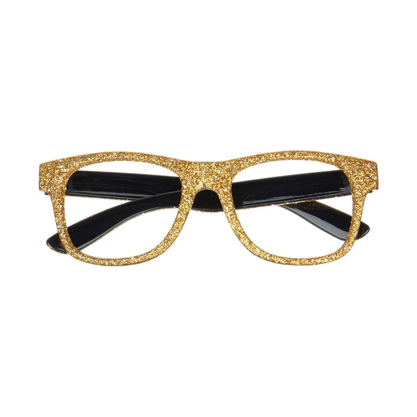 Glittery glasses-gold
