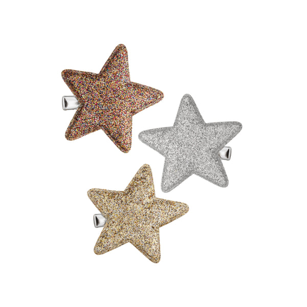 Glitter super star salon clips