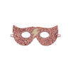 Glitter lightning superhero mask