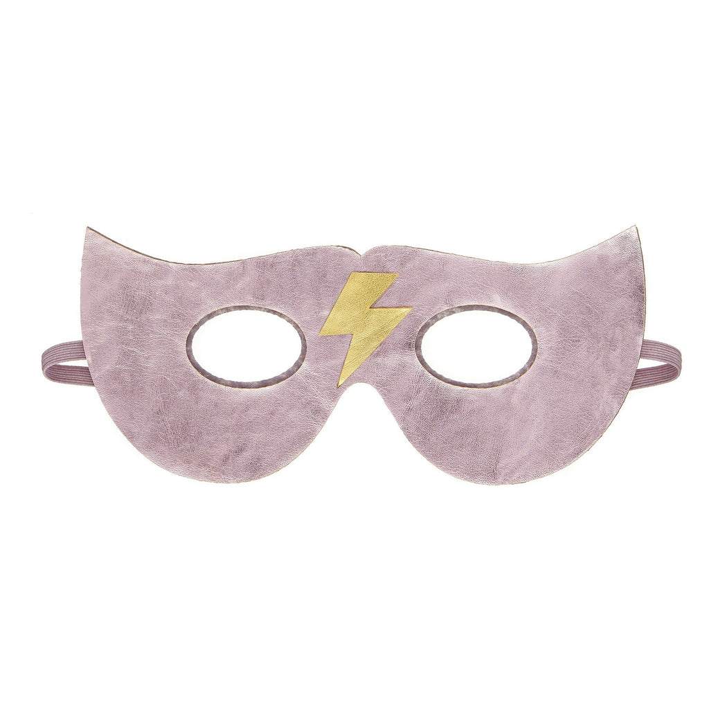 Lightning superhero mask in Pink by MIMI & LULA