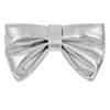 Metallic bow clutch bag BY MIMI AND LULA