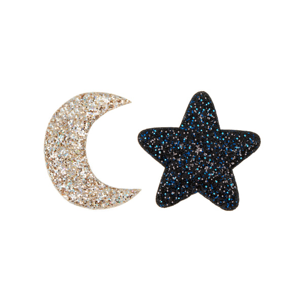 Midnight glitter clips by MIMI & LULA