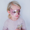Lightning superhero mask