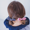 Verity velvet bow ponies