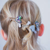 Disco glitter sweetheart clips