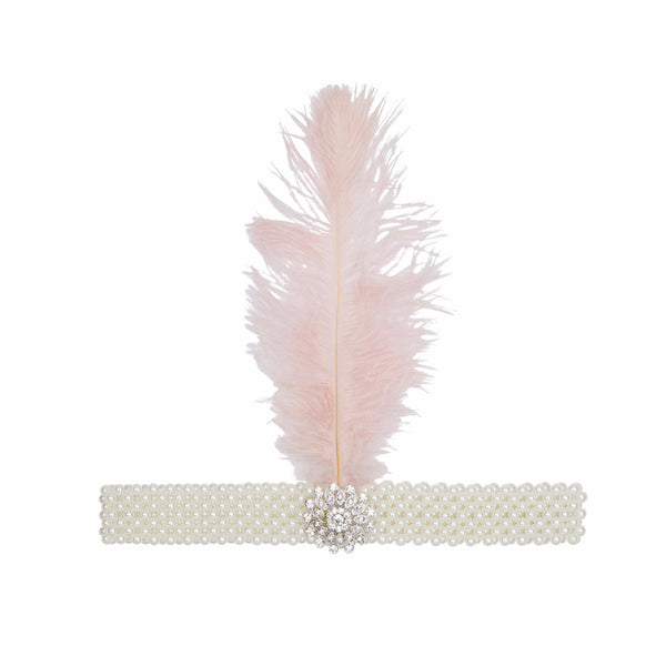 Tallulah feather headdress