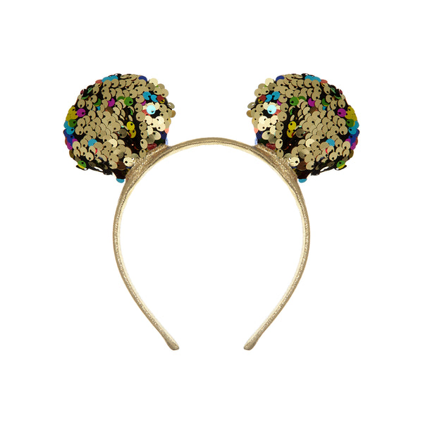 Mouse ears alice band BY MIMI AND LULA
