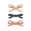 Tabitha tied mini bows