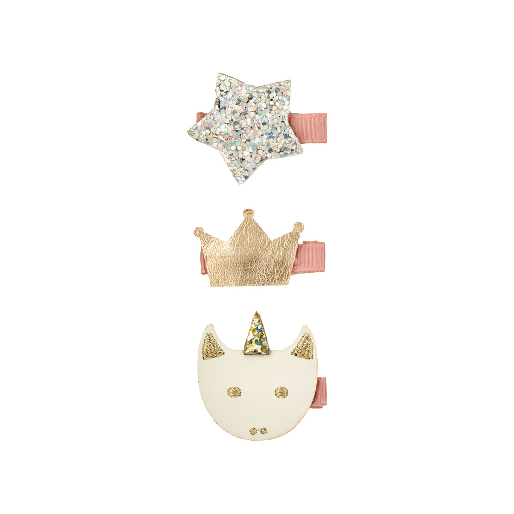 Magical unicorn clip set