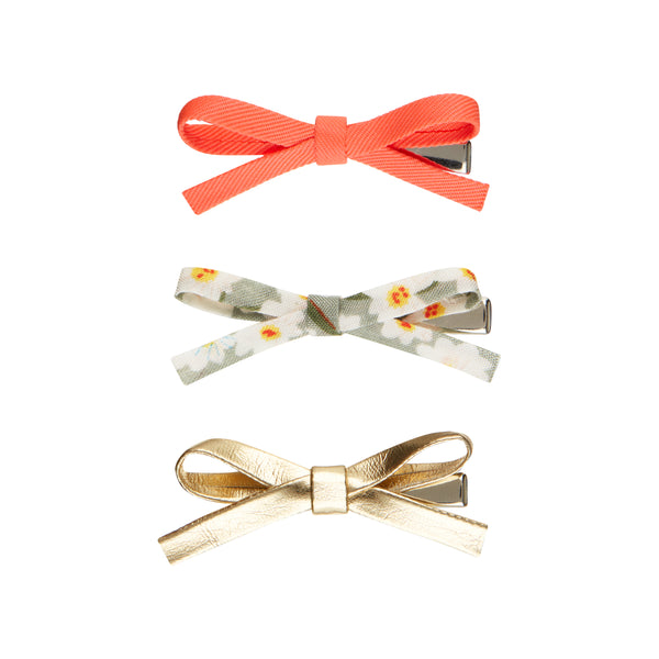 Neon Tabitha tied mini bows
