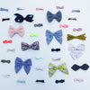 Pepper printed bow BY MIMI AND LULA