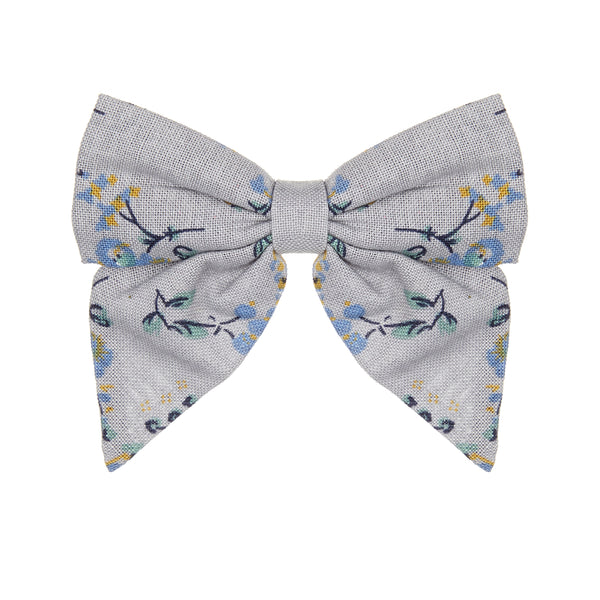 Pepper printed bow