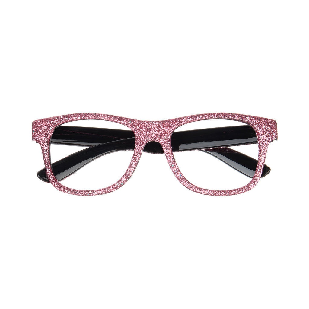 Glittery glasses - pink