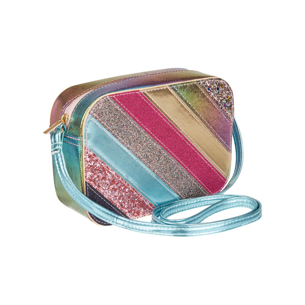 Rainbow stripe bag
