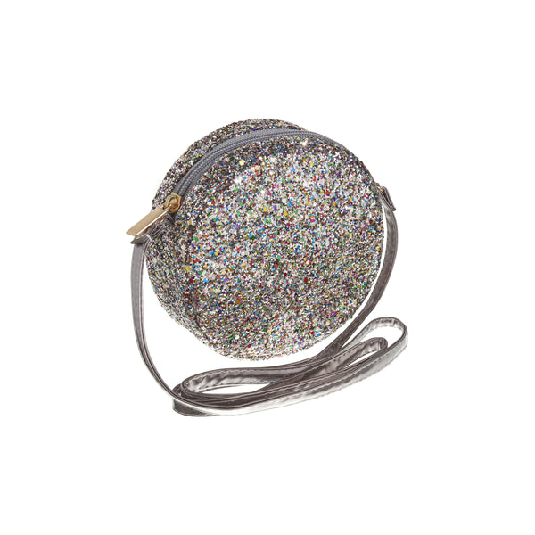 Lula glitter cross body bag BY MIMI AND LULA