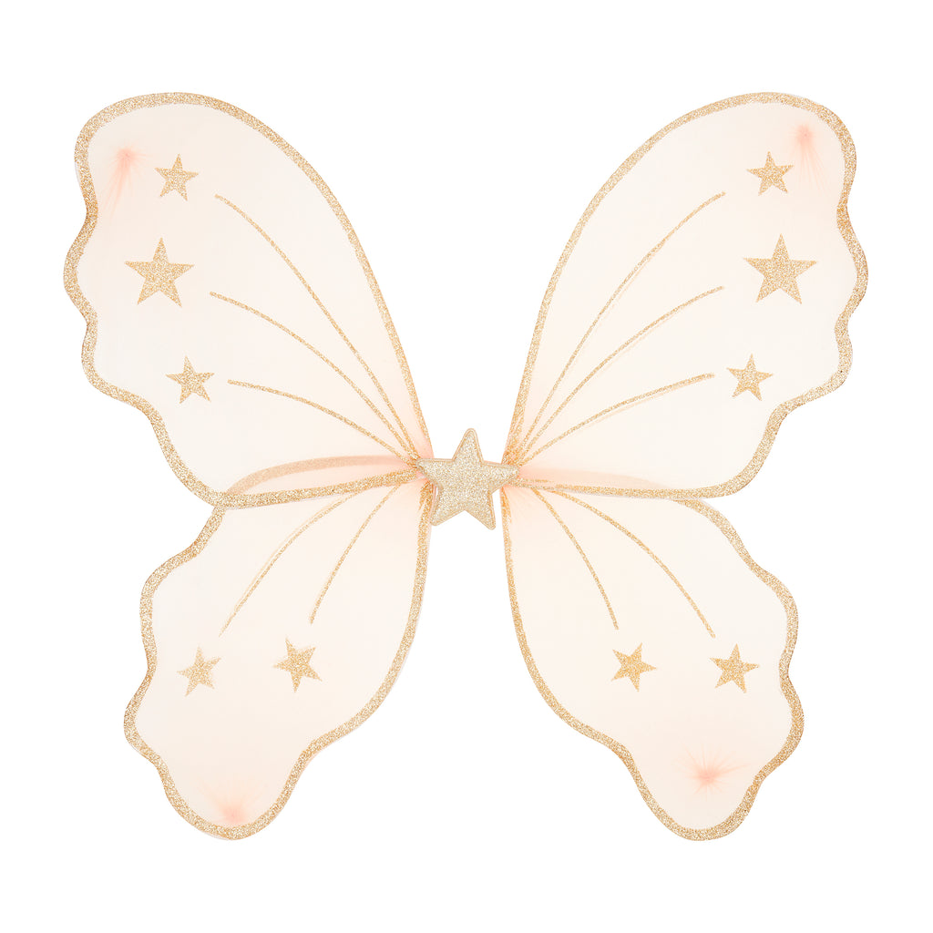 Starry night wings-pink