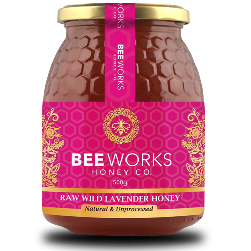 Raw Wild Lavender Honey - 1kg