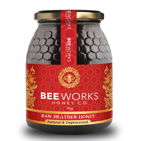 Raw Heather Honey - 1kg