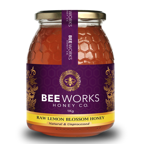 Raw Lemon Blossom Honey 1kg