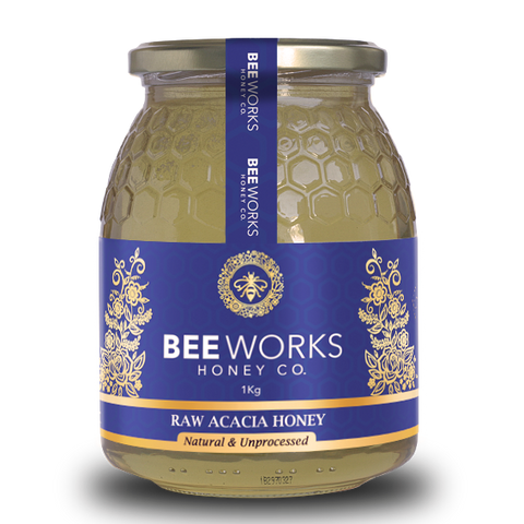 Raw Acacia Honey - 1kg