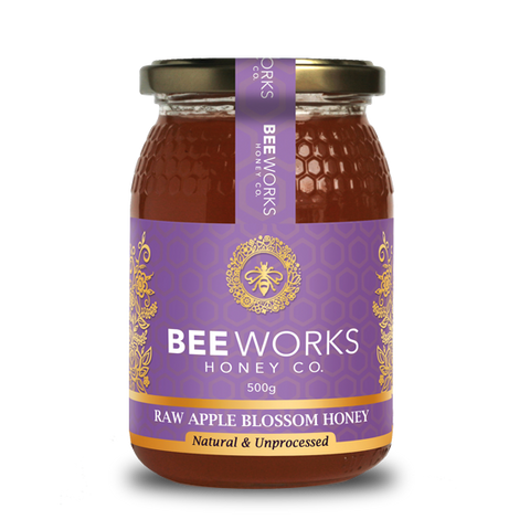 Raw Apple Blossom Honey - 500g