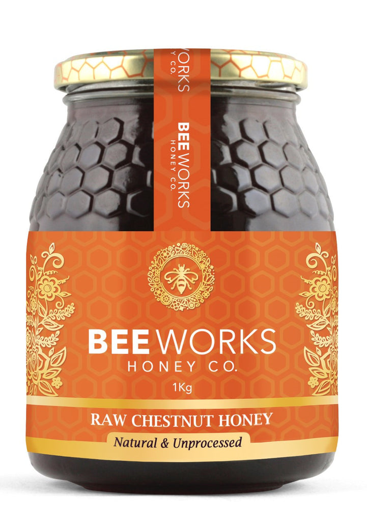 Raw Chestnut Honey - 1kg