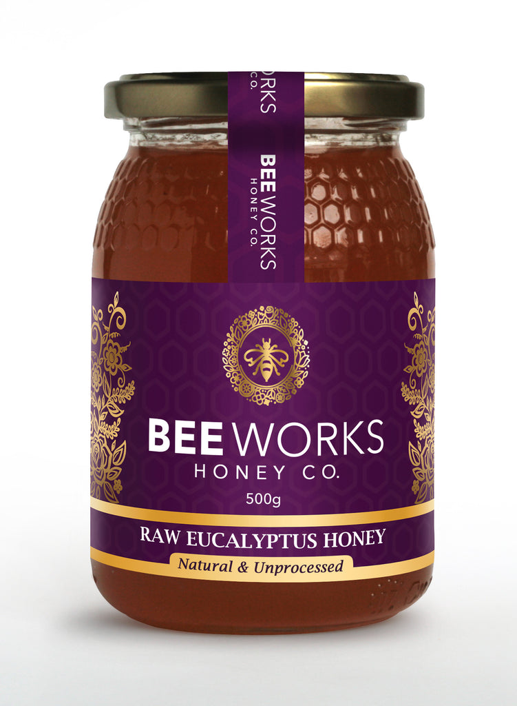 Raw Eucalyptus Honey - 500g