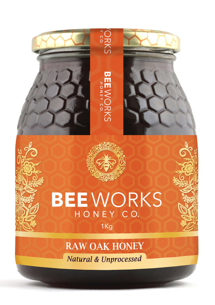 Raw Oak Honey - 1kg