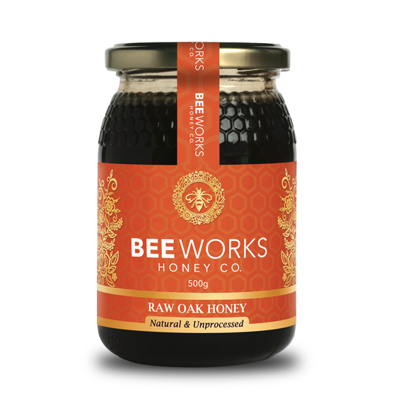 Raw Oak Honey - 500g