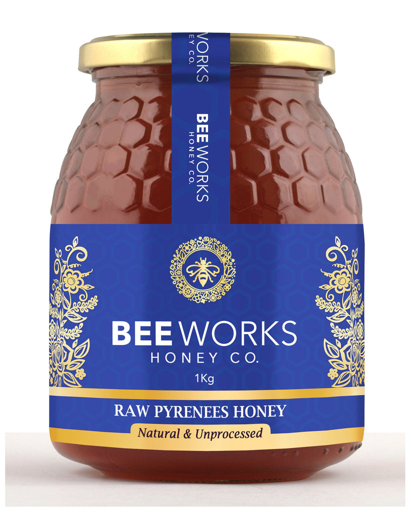 Raw Pyrenees (Mountain) Honey - 1kg