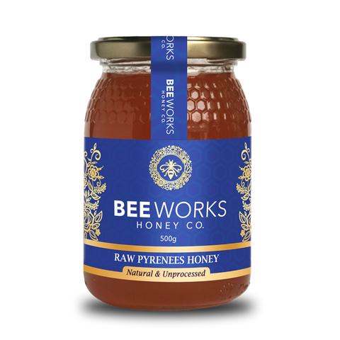 Raw Pyrenees (Mountain) Honey - 500g