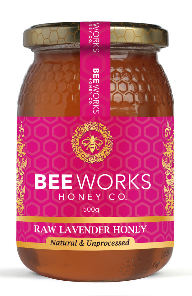 Raw Lavender Honey - 500g