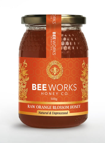 Raw Orange Blossom Honey - 500g