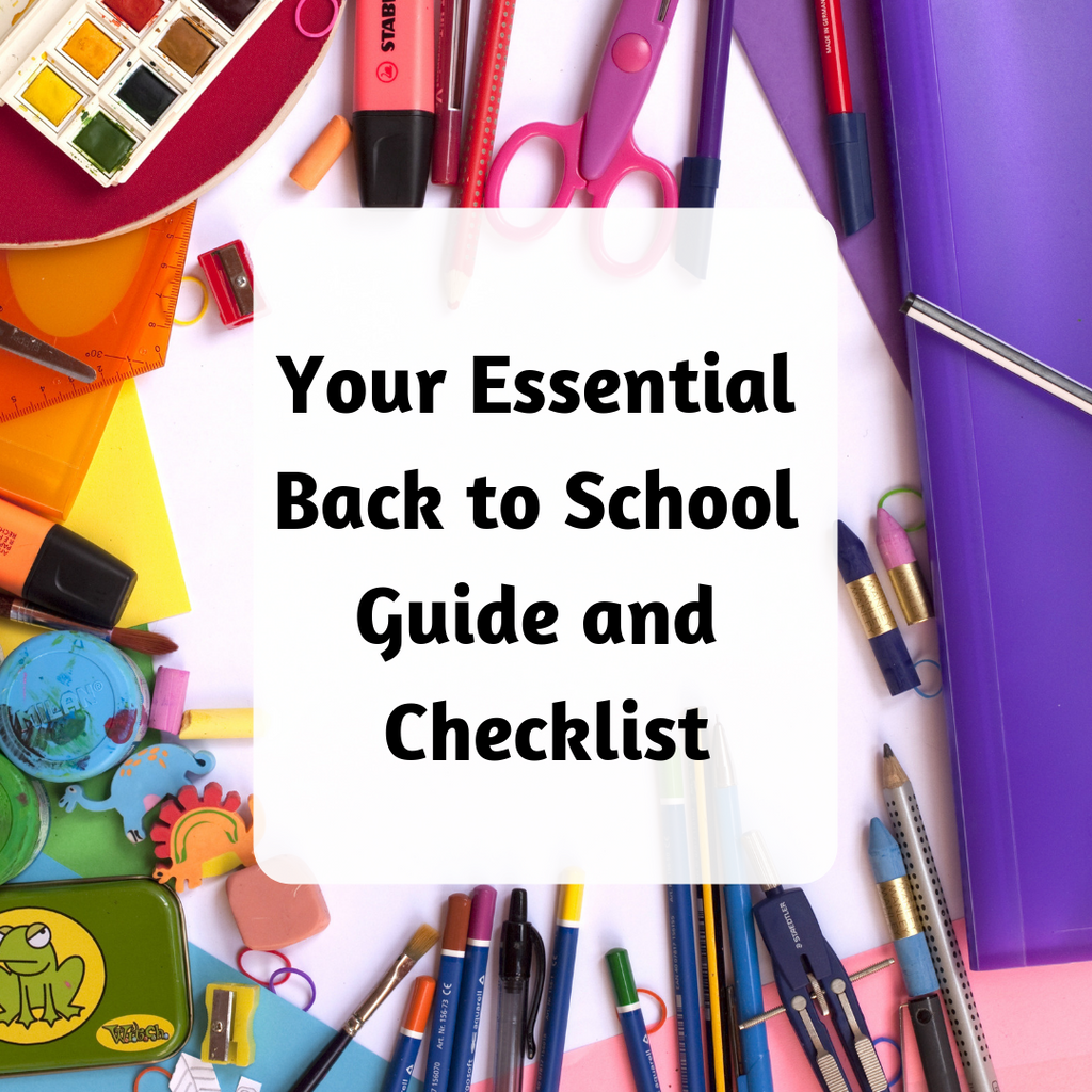 Your Essential Back-to-School Guide and Checklist