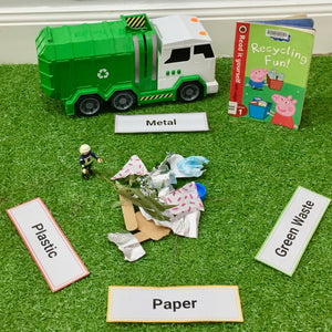 Recycling centre small world play