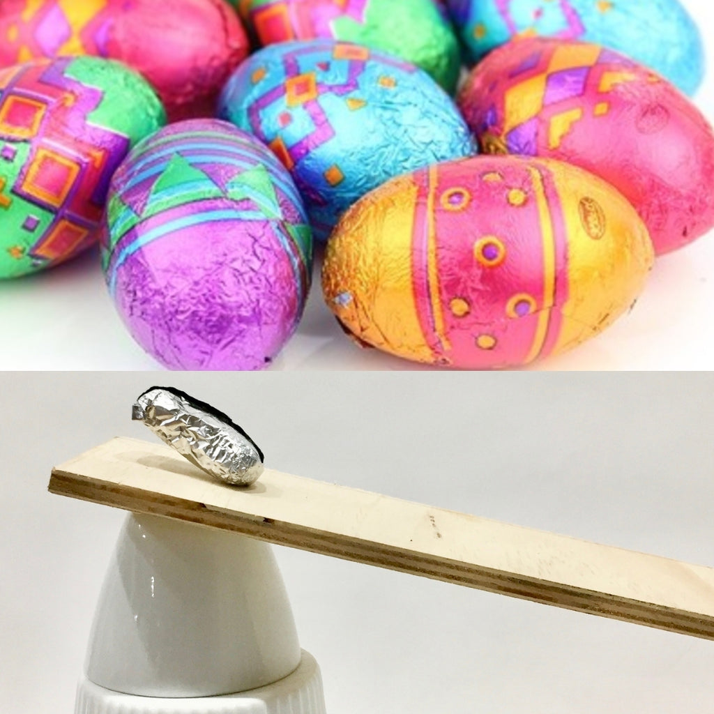 DIY Jumping Easter Egg Experiment
