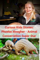 Story of an animal conservationist and STEM professional Dr Phoebe Meagher. Real STEM Careers for women and girls in STEM.