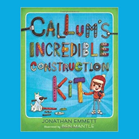 Callum's incredible construction kit a great STEM book for kids