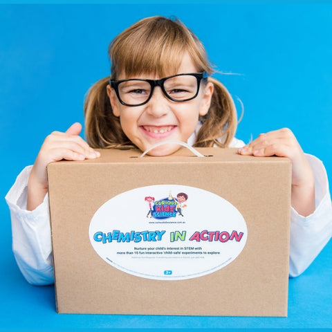 Chemistry-in-Action science kit for kids and children