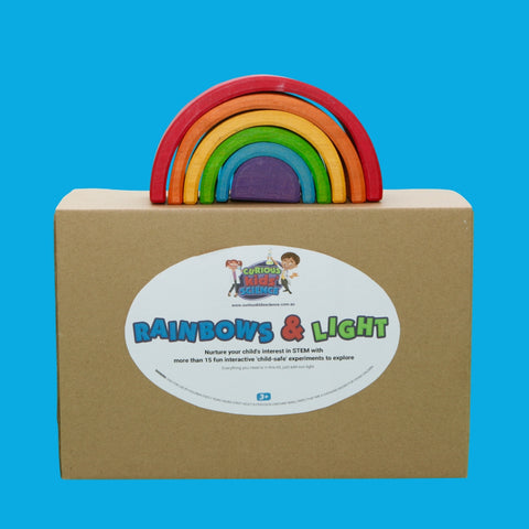 Rainbows and Light Optics and Colour Science Kit for kids and children Australia
