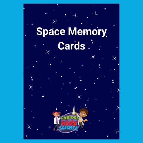 Curious Kids' Science Space Memory Card Set