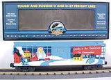 20-80001e - 1999 D. A. P.  RailKing O Gauge Christmas Box Car
