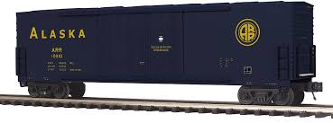 20-93740 - Alaska 50' Dbl. Door Plugged Boxcar