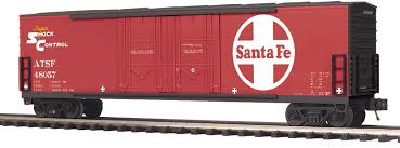 20-93750 - Santa Fe 50' Dbl. Door Plugged Boxcar