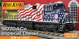 30-20682-1 - Kansas City Southern SD70ACe Imperial Diesel Engine With Proto-Sound 3.0